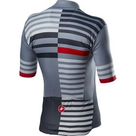 Castelli Mid Weight Pro Kortærmet cykeltrøje Herrer, vortex grey